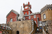 The chapel and clock tower of the Pena National Palace, Sintra, Portugal. PHOTO PAULO CUNHA/4SEE