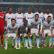 Marseille's team group during their UEFA Europa League Group Stage Group C soccer match Fenerbahce between Marseille at Sukru Saracaoglu stadium in Istanbul Turkey on Thursday 20 September 2012. Photo by TURKPIX