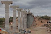 Agua Branca_AL, Brasil.<br /> <br /> Fotos no canal do sertao em Agua Branca, Alagoas.<br /> <br /> Channel (Canal do Sertao) in Agua Branca, Alagoas.<br /> <br /> Foto: EMMANUEL PINHEIRO / NITRO