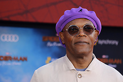 Samuel L. Jackson at the World premiere of 'Spider-Man Far From Home' held at the TCL Chinese Theatre in Hollywood, USA on June 26, 2019.