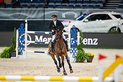 Ehning Marcus, GER, Comme Il Faut 5<br /> Stuttgart - German Masters 2018<br /> © Hippo Foto - Stefan Lafrentz