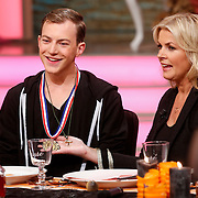 NLD/Hilversum/20121028 - Uitzending Life4You met Carlo Boszhard en Irene Moors, Mr.gay 2012 Bobby de Vries