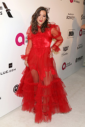 February 24, 2019 - West Hollywood, CA, USA - LOS ANGELES - FEB 24:  Tennille Amor at the Elton John Oscar Viewing Party on the West Hollywood Park on February 24, 2019 in West Hollywood, CA (Credit Image: © Kay Blake/ZUMA Wire)