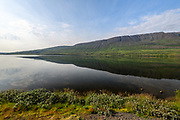 Lake Ljosavatn in Northeast-Iceland