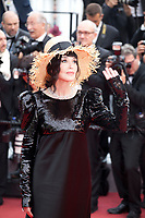 Isabelle Adjani at the La Belle Epoque gala screening at the 72nd Cannes Film Festival Monday 20th May 2019, Cannes, France. Photo credit: Doreen Kennedy
