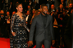 Usher and Grace Miguel attends the screening of Hands Of Stone at the annual 69th Cannes Film Festival at Palais des Festivals on May 16, 2016 in Cannes, France. Photo by Shootpix/ABACAPRESS.COM.  | 547104_128 Cannes France