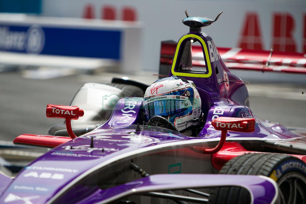 April 14, 2018 - Rome, RM, Italy - S. Bird of Virgin Racing during Rome E-Prix Round 7 as part of the ABB FIA Formula E Championship on April 14, 2018 in Rome, Italy. (Credit Image: © Danilo Di Giovanni/NurPhoto via ZUMA Press)