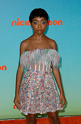 March 23, 2019 - Los Angeles, CA, USA - LOS ANGELES, CA - MARCH 23: Skai Jackson attends Nickelodeon's 2019 Kids' Choice Awards at Galen Center on March 23, 2019 in Los Angeles, California. Photo: CraSH for imageSPACE (Credit Image: © Imagespace via ZUMA Wire)