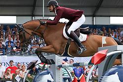 Al Thani Bin Khalid Ali, QAT, Vienna Olympic<br /> LGCT Valkenswaard 2014<br /> © Sharon Vandeput<br /> 2/08/14