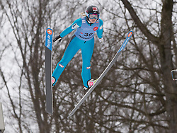 30.01.2015, Energie AG Skisprung Arena, Hinzenbach, AUT, FIS Weltcup Ski Sprung, Hinzenbach, Damen, Training im Bild Chiara Hölzl (AUT) // during FIS Ski Jumping World Cup Ladies at the Energie AG Skisprung Arena, Hinzenbach, Austria on 2015/01/30. EXPA Pictures © 2015, PhotoCredit: EXPA/ Reinhard Eisenbauer