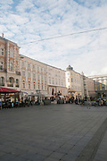 View of Hauptplatz, Linz, Austria