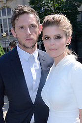 Kate Mara and Jamie Bell attending the Dior Homme show during the Paris Men's fashion Week Spring Summer 2018, in Paris, France on june 24, 2017. Photo by Aurore Marechal/ABACAPRESS.COM