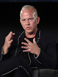 LOS ANGELES - AUGUST 9: Ryan Murphy onstage during 'The Assassination of Gianni Versace: American Crime Story' panel during the FX portion of the 2017 Summer TCA press tour at the Zanuck Theatre on the Fox Studio Lot on August 9, 2017 in Los Angeles, California. (Photo by Frank Micelotta/FX/PictureGroup) *** Please Use Credit from Credit Field ***