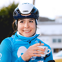 Sheyla Gutiérrez. 2021 Movistar Team Training Camp, Almería. 10.1.2021.