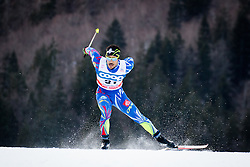 Jouve Richard (FRA) during Man 1.2 km Free Sprint Qualification race at FIS Cross<br /> Country World Cup Planica 2016, on January 16, 2016 at Planica,Slovenia. Photo by Ziga Zupan / Sportida