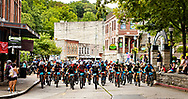 Eureka Springs, Arkansas during the 2019 Fat Tire bicycle race.