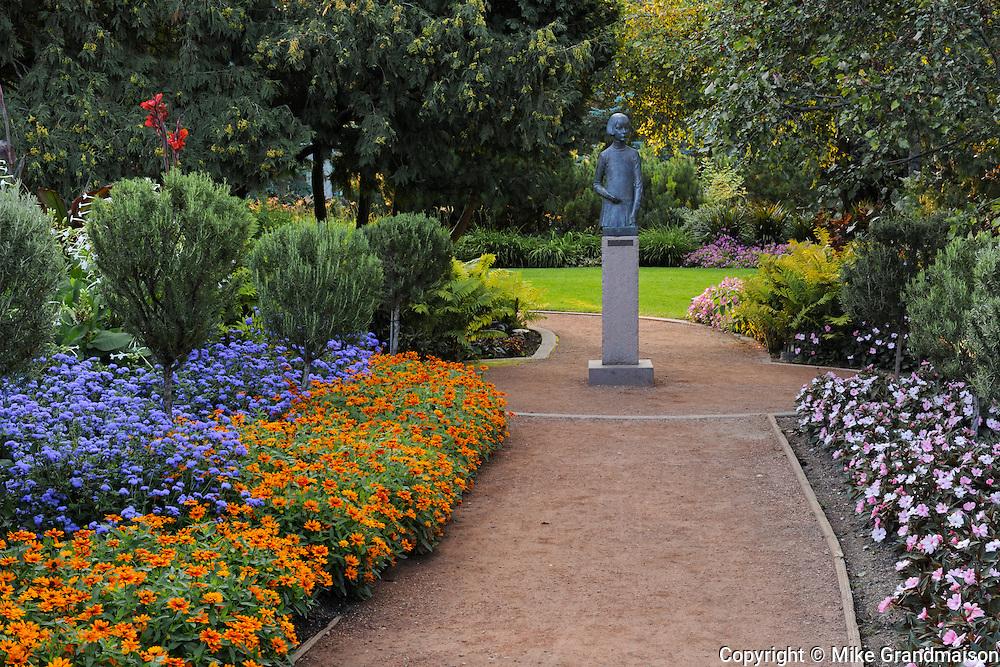 Leo Mol Gardens. Assiniboine Park<br /> Winnipeg<br /> Manitoba<br /> Canada