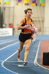 Kathryn Martin, Mile Run, 60-64 age group, sets world indoor record