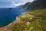 Siloama Church, Kalaupapa Peninsula, North Shore, Molokai, Hawaii
