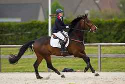 Skelton Chelsea, (GBR), Caramba<br /> Class 16 Nations Cup YR<br /> International Competition CSIO Young Riders Opglabbeek 2016<br /> © Dirk Caremans