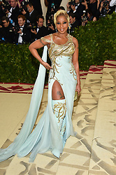 Mary J Blige attending the Costume Institute Benefit at The Metropolitan Museum of Art celebrating the opening of Heavenly Bodies: Fashion and the Catholic Imagination. The Metropolitan Museum of Art, New York City, New York, May 7, 2018. Photo by Lionel Hahn/ABACAPRESS.COM