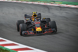 May 13, 2018 - Barcelona, Catalonia, Spain - MAX VERSTAPPEN (NED) drives during the Spanish GP at Circuit de Barcelona - Catalunya in his Red Bull RB14 (Credit Image: © Matthias Oesterle via ZUMA Wire)