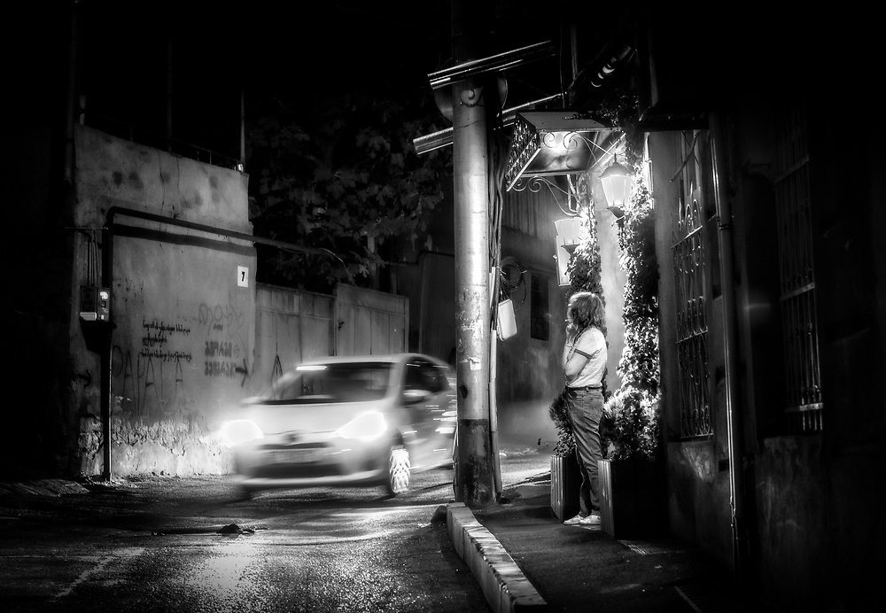 Night corner