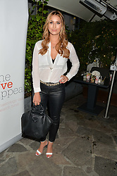 FERNE McCANN at a reception hosted by Tiffany Watson in aid of The Eve Appeal held at The Phene, 9 Phene Street, London on 8th September 2015.