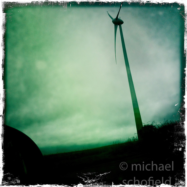 Turbine..Hipstamatic images taken on an Apple iPhone..©Michael Schofield.