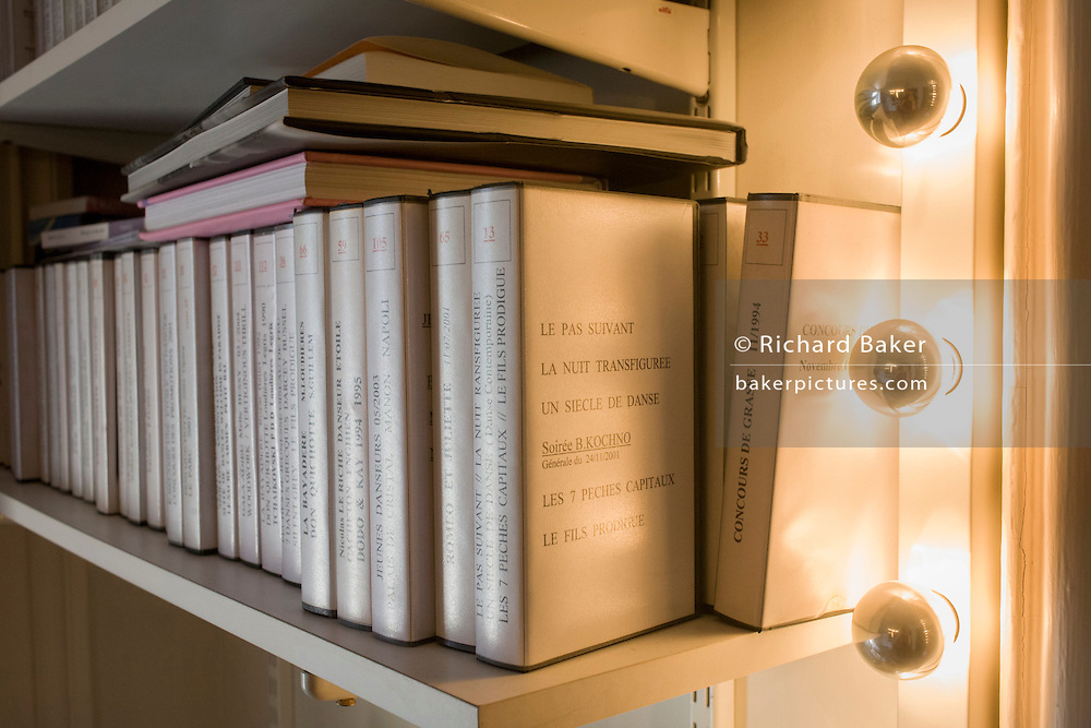 Ballet archive of Dorothee Gilbert, Etoile dancer at the Opera Garnier, Paris.<br /> <br /> From the chapter entitled 'Etoile' and from the book 'Risk Wise: Nine Everyday Adventures' by Polly Morland (Allianz, The School of Life, Profile Books, 2015). <br /> <br /> FOR REPRODUCTION OTHER THAN RELATED TO THE BOOK 'RISK WISE', PERMISSION FROM DOROTHEE GILBERT IS REQUIRED.
