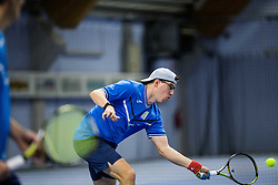 Recreational tennis doubles tournament BTC Medot, on January 14, 2017 in SC Millenium, BTC, Ljubljana, Slovenia. Photo by Vid Ponikvar / Sportida