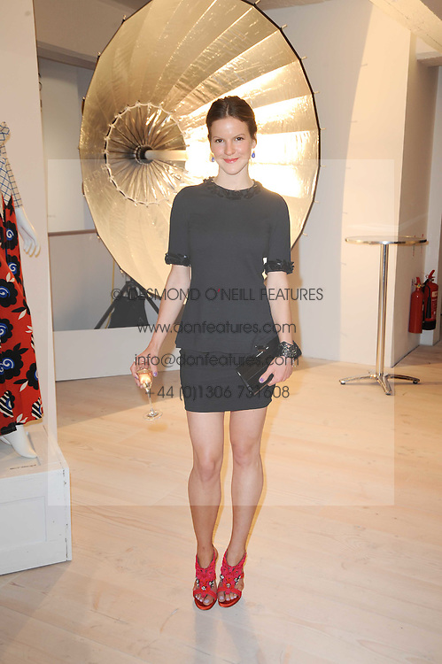 FUSCHIA SUMNER daughter of singer Sting at a dinner hosted by Harper's Bazaar to celebrate Browns 40th Anniversary in aid of Women International held at The Regent Penthouses & Lofts, 16-18 Marshall Street, London on 20th May 2010.