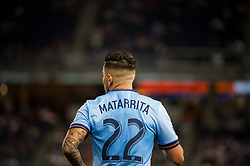 September 26, 2018 - Bronx, New York, US - New York City FC defender RONALD MATARRITA (22) during a regular season match at Yankee Stadium in Bronx, New York.  New York City FC defeats Chicago Fire 2 to 0 (Credit Image: © Mark Smith/ZUMA Wire)