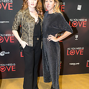 NLD/Amsterdam/20181126 - premiere All You Need Is Love, Britte Lagcher en .....