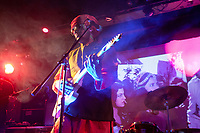 Brooklyn, New York | 2008<br /> Ranjit Arapurakal performs with the band Suspicious Brown.