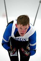 Langrenn, 27. feburar 2003, Junior NM,  Lars Moholdt, Rindals-Troll, ble norsk mester i klassisk