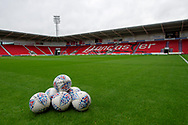 A General inside the Keepmoat Stadium before the EFL Sky Bet League 1 match between Doncaster Rovers and Bradford City at the Keepmoat Stadium, Doncaster, England on 22 September 2018.