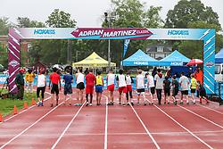Boys One Mile start, age 11-14<br /> 2019 Adrian Martinez Track Classic
