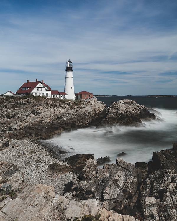 Weekend trip to the coast of Maine.