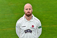 Head shot.  Jack Leach wearing the Somerset Specsavers County Championship kit at the media day at Somerset County Cricket Club at the Cooper Associates County Ground, Taunton, United Kingdom on 11 April 2018. Picture by Graham Hunt.