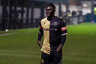 Marine forward Mo Touray (10) during the The FA Cup match between Marine and Havant & Waterlooville FC at Marine Travel Arena, Great Crosby, United Kingdom on 29 November 2020.