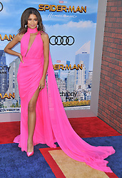 """Zendaya arrives at the """"Spider-Man: Homecoming"""" Los Angeles Premiere held at the TCL Chinese Theater in Hollywood, CA on Wednesday, June 268, 2017.  (Photo By Sthanlee B. Mirador) *** Please Use Credit from Credit Field ***"""