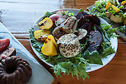 Roasted beet and fig salad, by Rebecca and Tom Woodram