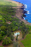 Father Damien, St Philomena Church, 1872, Kalaupapa Peninsula, Molokai, Hawaii