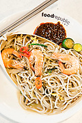Prawn Mee at Food Republic shopping-mall food-courts
