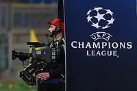 Cameraman Tv Camra alla Champions League <br /> Roma 13-03-2018 Stadio Olimpico<br /> Football Calcio UEFA Champions League 2017/2018<br /> AS Roma - Shakhtar Donetsk<br /> Quarti di finale ritorno, Round of 16 2st leg<br /> Foto Cesare Purini / Insidefoto