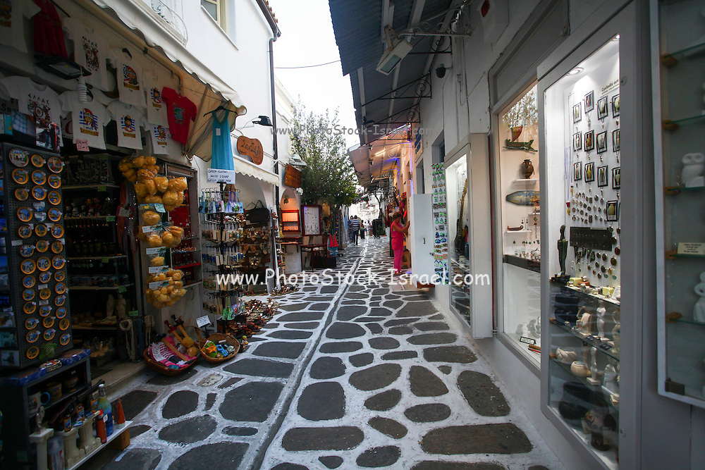 Paros, a Greek island in the central Aegean Sea. One of the Cyclades island group, Greece