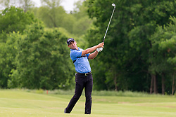 May 9, 2019 - Dallas, TX, U.S. - DALLAS, TX - MAY 09: Charles Howell III hits his approach shot on the ninth fairway during the first round of the AT&T Byron Nelson on May 9, 2019 at Trinity Forest Golf Club in Dallas, TX. (Photo by Andrew Dieb/Icon Sportswire) (Credit Image: © Andrew Dieb/Icon SMI via ZUMA Press)