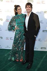 27th Annual EMA Awards - Santa Monica. 23 Sep 2017 Pictured: Nikki Reed, Ian Somerhalder. Photo credit: Jaxon / MEGA TheMegaAgency.com +1 888 505 6342