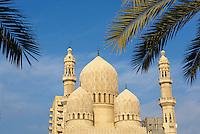 Egypte, Basse Egypte, la côte méditerranéenne, Alexandrie, mosquée El-Abbas El-Morsi  // Egypt, Alexandria, mosque El Abbas El Morsi.